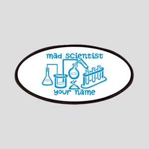 Personalized Mad Scientist Patches