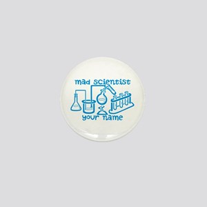 Personalized Mad Scientist Mini Button