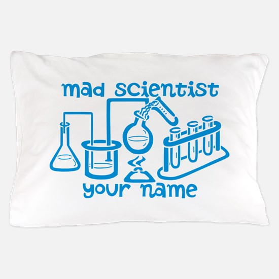 Personalized Mad Scientist Pillow Case