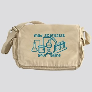 Personalized Mad Scientist Messenger Bag
