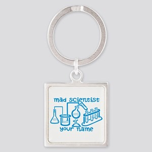 Personalized Mad Scientist Keychains