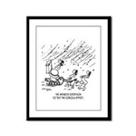 Physics Cartoon 0808 Framed Panel Print