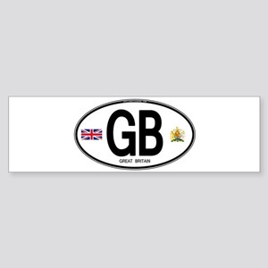 gb-oval-7 Bumper Sticker