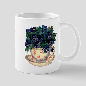 Teacup Flowers Mug