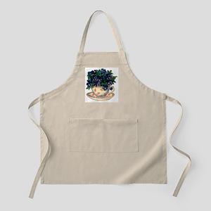Teacup Flowers Apron