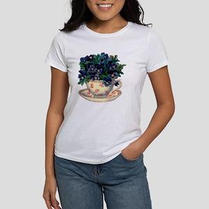 Teacup Flowers T-Shirt