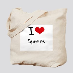 I love Sprees Tote Bag