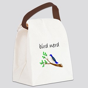 bird nerd Canvas Lunch Bag