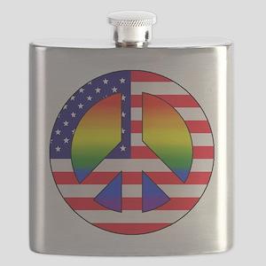 Gay Patriot Flask