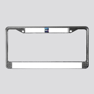 Palm Springs Night License Plate Frame