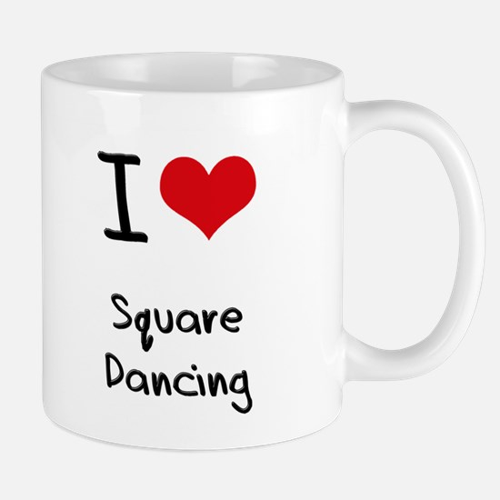 I love Square Dancing Mug