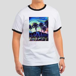 Palm Springs Night Ringer T