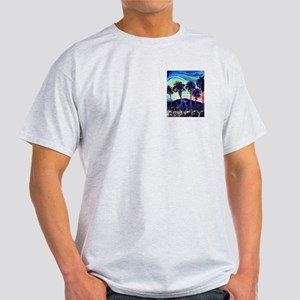 Palm Springs Night Ash Grey T-Shirt