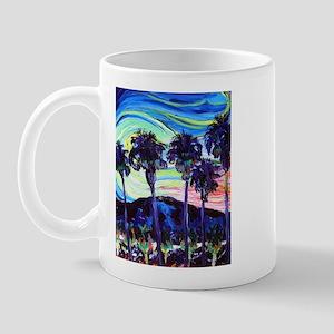 Palm Springs Night Mug
