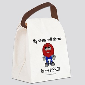 """""""Izzy, My Hero"""" Canvas Lunch Bag"""