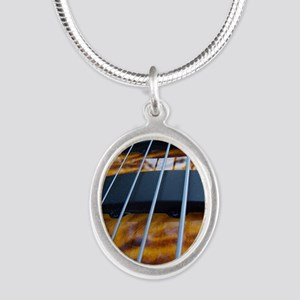 Four String Tiger Eye bass Necklaces