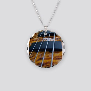Four String Tiger Eye bass Necklace
