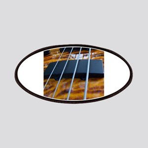 Four String Tiger Eye bass Patches