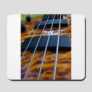 Four String Tiger Eye bass Mousepad