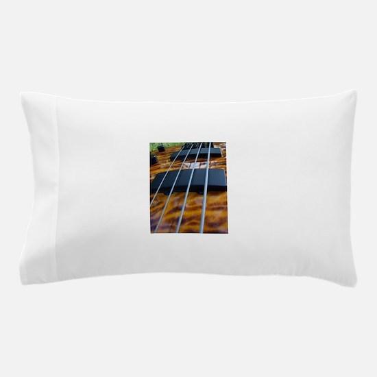 Four String Tiger Eye bass Pillow Case
