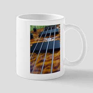 Four String Tiger Eye bass Mug
