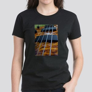 Four String Tiger Eye bass T-Shirt