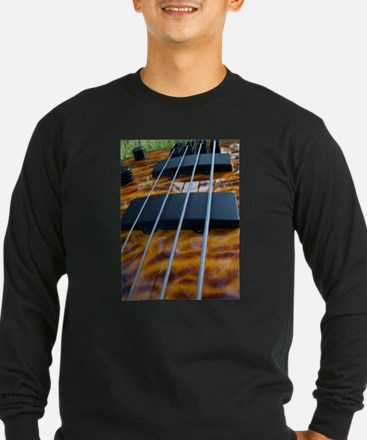 Four String Tiger Eye bass Long Sleeve T-Shirt