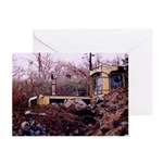 Tractor Sleeping - Greeting Cards (Pk of 10)