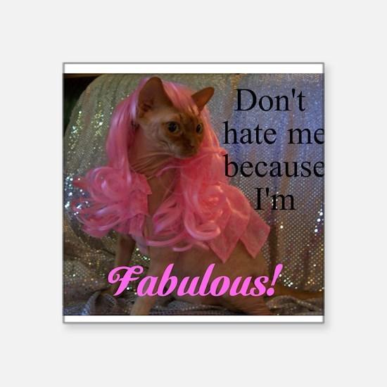 Fabulous kitty Sticker