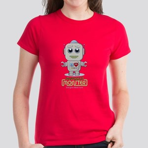 Cute Robot Women's Dark T-Shirt