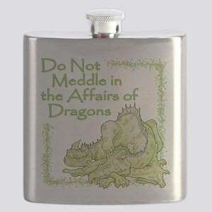 Do Not Meddle in the Affairs of Dragons Flask