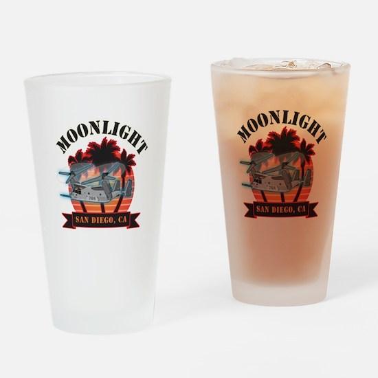 Moonlight V-22 Drinking Glass
