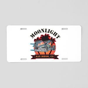 Moonlight V-22 Aluminum License Plate