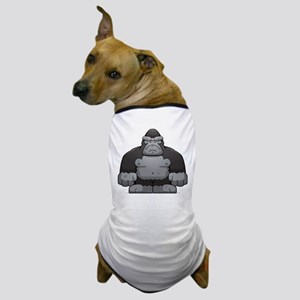 Standing Gorilla Dog T-Shirt