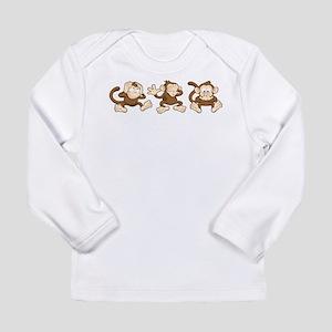 No Evil Monkey Long Sleeve T-Shirt