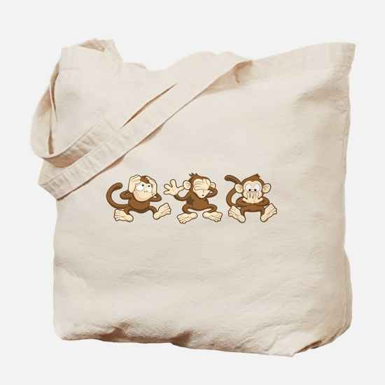 No Evil Monkey Tote Bag