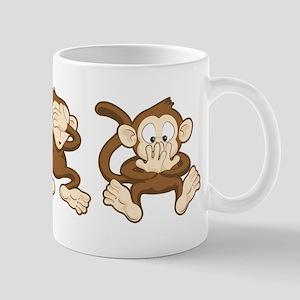 No Evil Monkey Mug