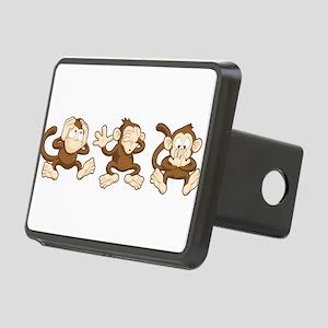 No Evil Monkey Hitch Cover