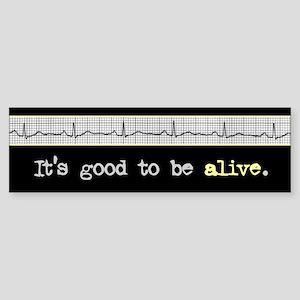 Alive Bumper Sticker