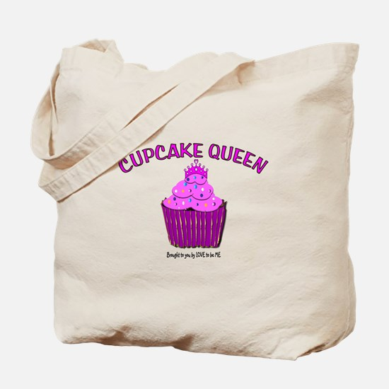 CUPAKE QUEEN Tote Bag