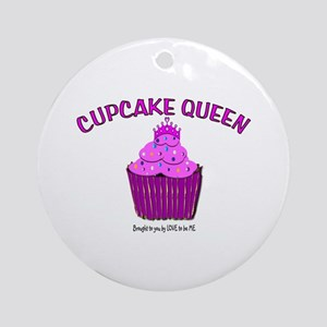 CUPAKE QUEEN Ornament (Round)