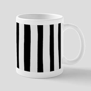 Funny black and white stripes Mug