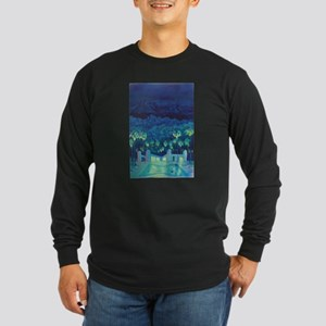 Night Swim Long Sleeve Dark T-Shirt