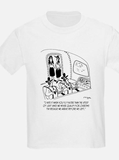 Flying Cartoon 7547 T-Shirt