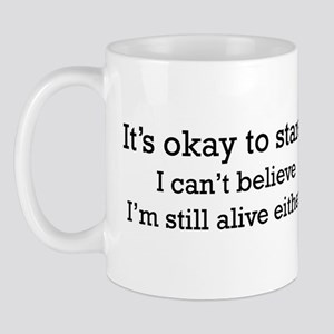 It's OK to stare... Mug