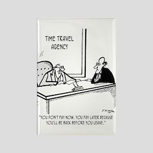 Time Cartoon 5138 Rectangle Magnet