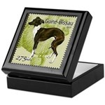 Italian Greyhound Stamp Keepsake Box