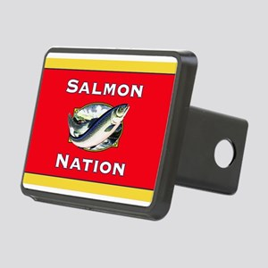salmon nation flag Hitch Cover