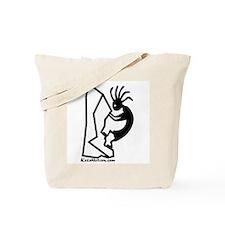 Kokopelli Rock Climber Tote Bag