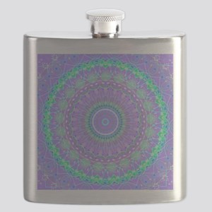 Funky Fresh Purple Mandala Flask